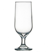 custom printed footed beer glass sydney
