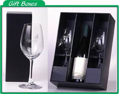 custom glassware gift boxes