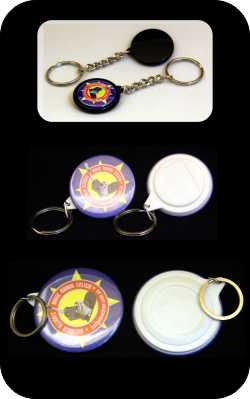 Keyring Components, 25mm, 44mm and 58mm