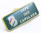 sample of customised promotional custom shape lapel pin with hard enamel