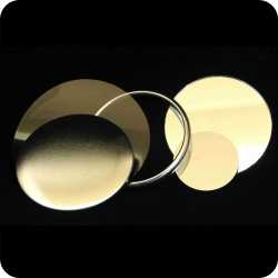 Pocket Mirror Component Parts, 44mm and 58mm