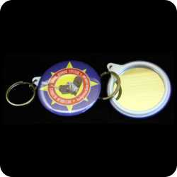 Mirror Keyring Components, 58mm
