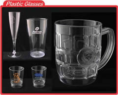 custom printed plastic glasses