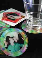 printed glass drink coasters sydney australia