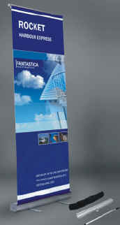 Custom Digitally Printed Roll-Up Banner Sign