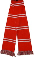 Football Scarves Custom Knitted Soccer Scarf For Your