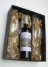 wine glass bottle box melbourne