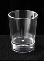 non Printed Plastic Shot Glass