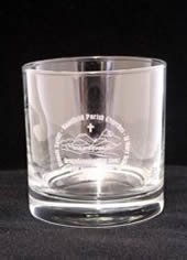 Engraved Whiskey Glass